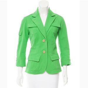 Diane von Furstenberg Safari Teddy blazer Size 10